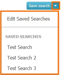 Reports - Custom Query - Saved Searches