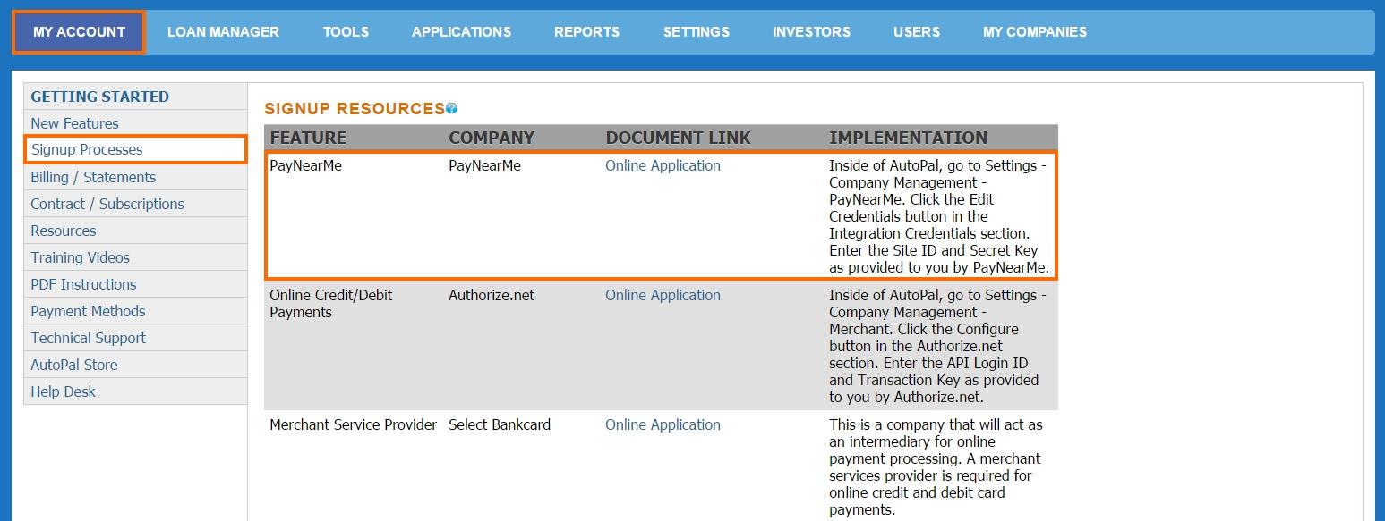 PayNearMe Overview – AutoPal Software