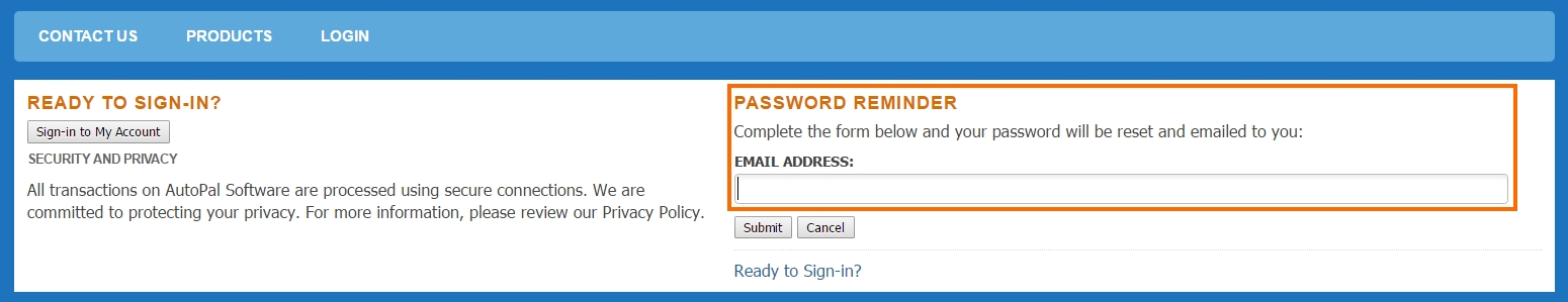 password-reset
